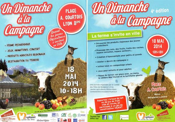 CIL Monplaisir - Le 18 mai, un dimanche à la campagne