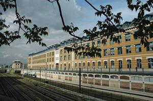 Manufacture des tabacs, réaménagée en Université (LYON 3)