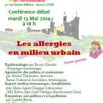 Conférence Débat sur les allergies en milieu urbain