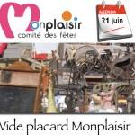 comite fetes monplaisir  organise le 21 juin le vide-placards