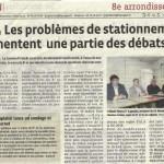 Le Progres Lyon - Problèmes de stationnement de Monplaisir