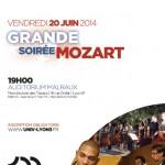 CIL Monplaisir - animations juin 2014 -soiree mozart par le Groupe NOVA