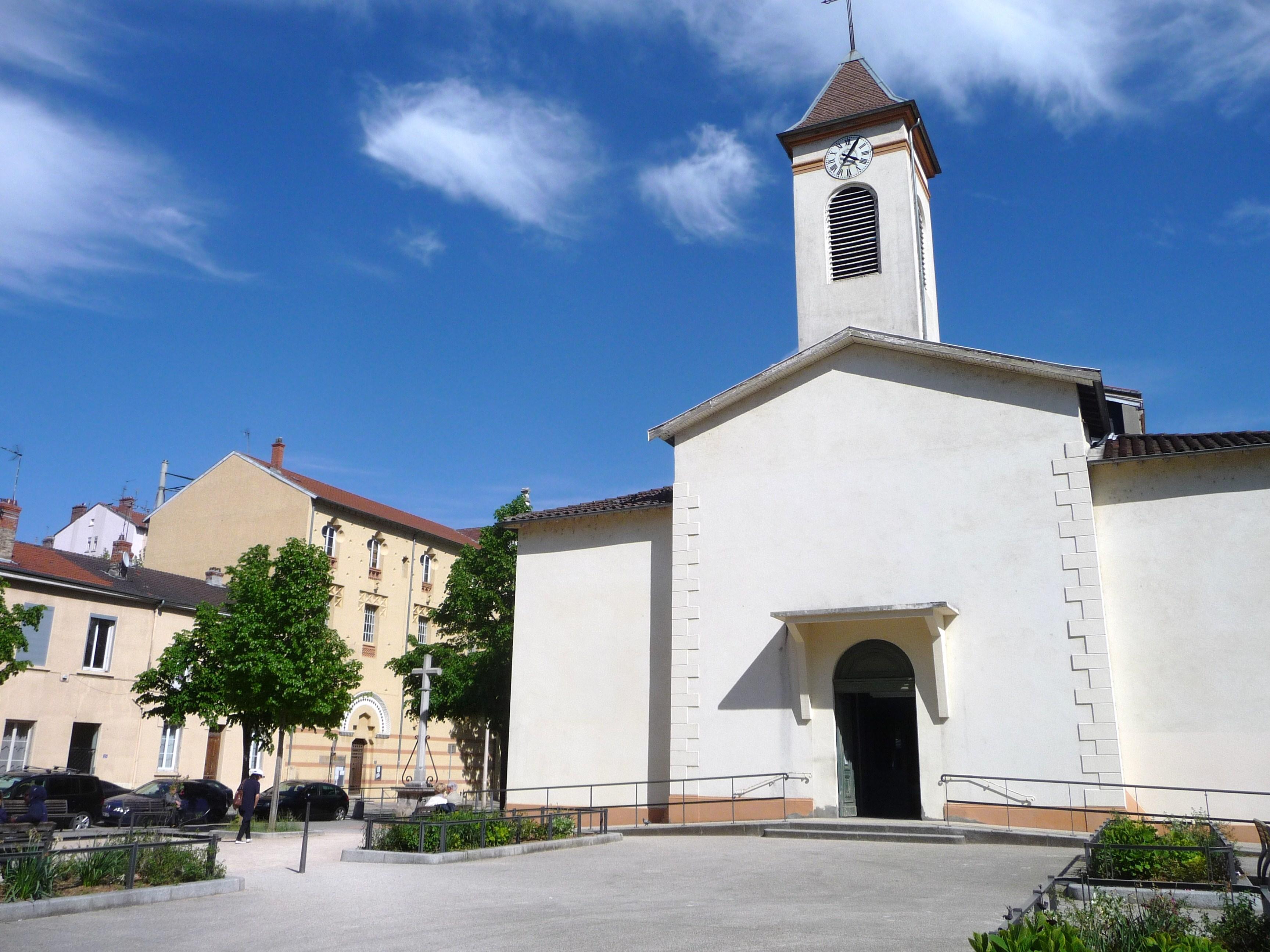 CIL Monplaisir - Histoire du quartier de Monplaisir Lumière - Lyon 8ème - Eglise Saint Maurice de Monplaisir